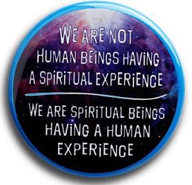 Macaron We are spiritual beings